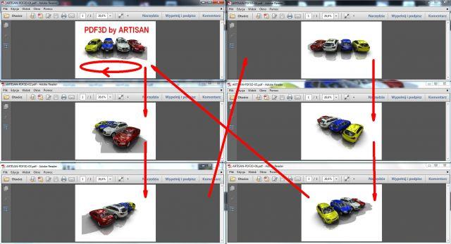 ARTISAN PDF3D export3