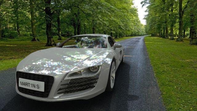 photo Audi R8 export Skp dae2dwg20131