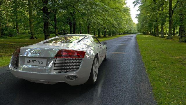 photo Audi R8 export Skp dae2dwg20132